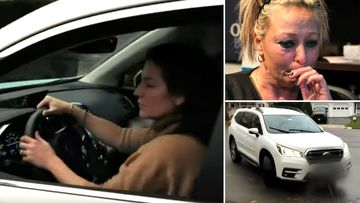 """The family of Harry Dunn are """"completely devastated"""" after watching footage of hit-and-run suspect Anne Sacoolas driving, and stonewalling the approach of a reporter who asked if she would return to the UK."""