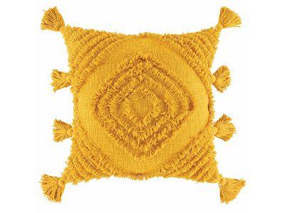 The Block Shop — Daffie Cushion by Kas Australia (Mustard)