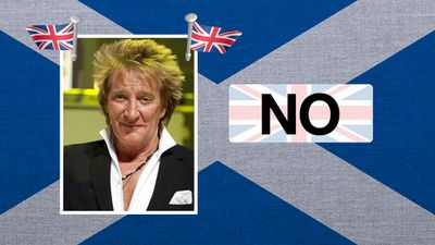 """Rod Stewart, singer: """"I'd hate to see the Union broken after all these years - and I don't think it will happen."""""""