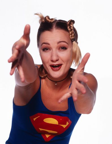 Pop star, Whigfield, promo, shoot