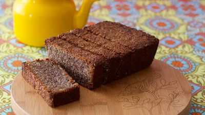 "Recipe:&nbsp;<a href=""http://kitchen.nine.com.au/2016/05/17/11/29/banana-bread"" target=""_top"" draggable=""false"">Gluten-free banana and coconut bread</a>"
