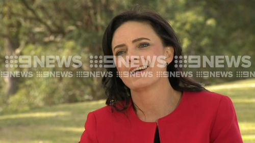 Embattled Labor MP Emma Husar has told 9NEWS she will not contest the next Federal Election. Picture: 9NEWS