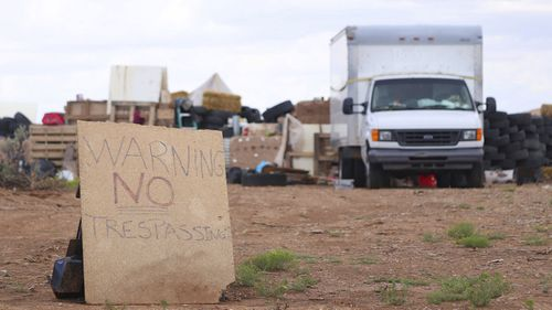 Children ranging in age from one to 15 were removed from the compound in the small community of Amalia near the Colorado border and turned over to state child-welfare workers.