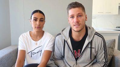 Love Island Australia's Tayla and Dom have split up.