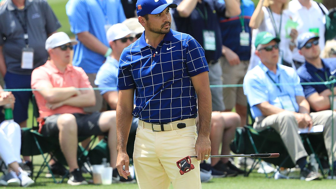 Jason Day battles back injury as Aussies contend at Masters