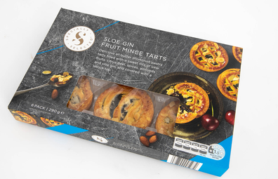 Aldi Specially Selected Sloe Gin Fruit Mince Tarts