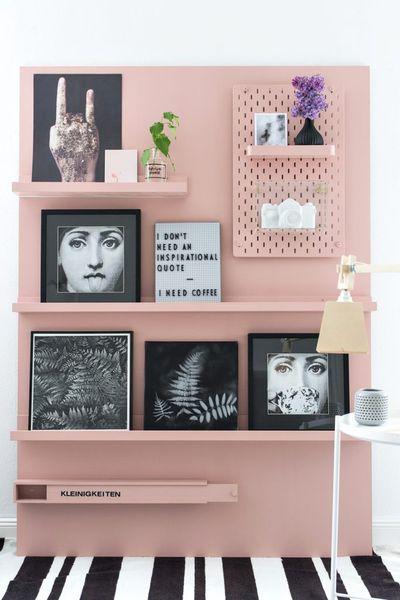 Moveable art wall
