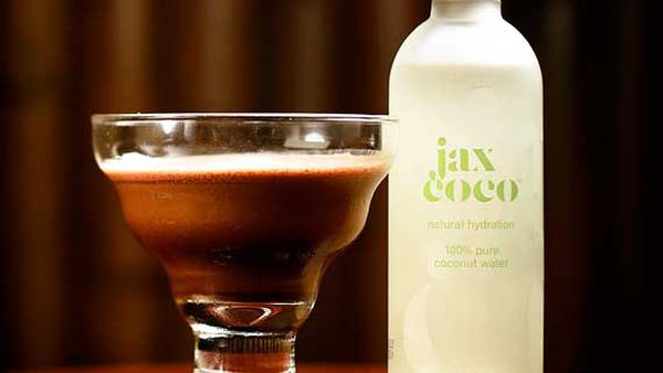 Jaxspresso martini (coconut and coffee cocktail)