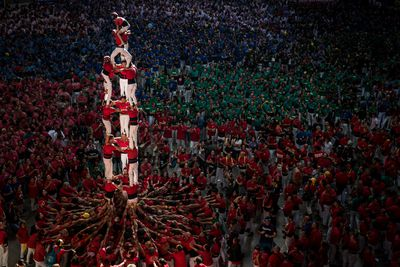 <strong>Human tower, October 7</strong><br>