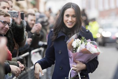 <strong>Meghan Markle loves flowers</strong>