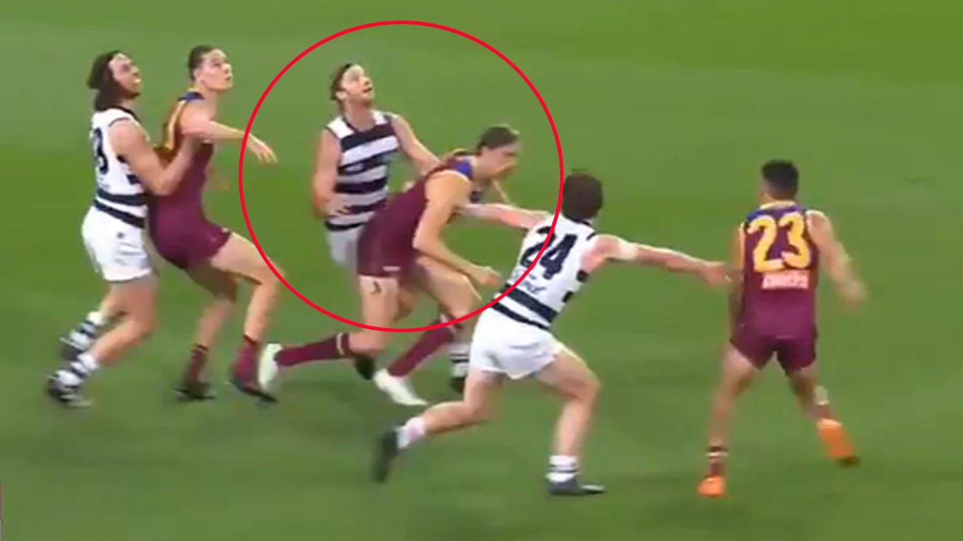 'Not a laughing matter': Brisbane Lions forward Joe Daniher slammed for 'cheating'