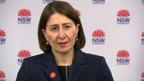 NSW Premier Gladys Berejiklian urged people not to attend a Black Lives Matter rally planned for Tuesday night in Sydney.