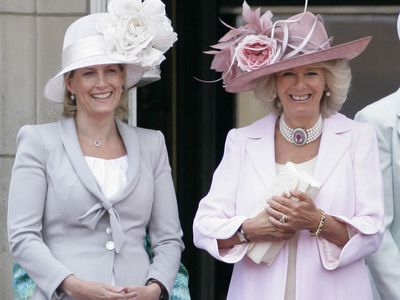 Sophie, Countess of Wessex and Camilla, Duchess of Cornwall