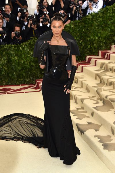 <p>We don't care what the naysayers on Twitter and Instagram have to say.&nbsp; Bella Hadid in this custom-made dress from cult label, Chrome Hearts, hit all the right notes of style, sex, appeal and slickness.&nbsp;</p> <p>&nbsp;</p>