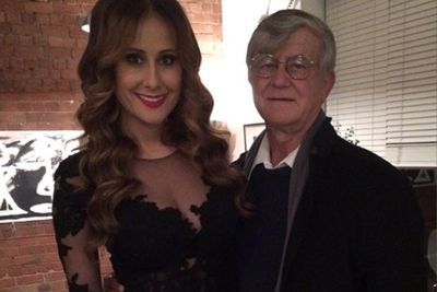 @jackiegilliestv: My #inspiration <3 Happy Father's Day Tata. I love you. And to all the wonderful dads out there! #blessed