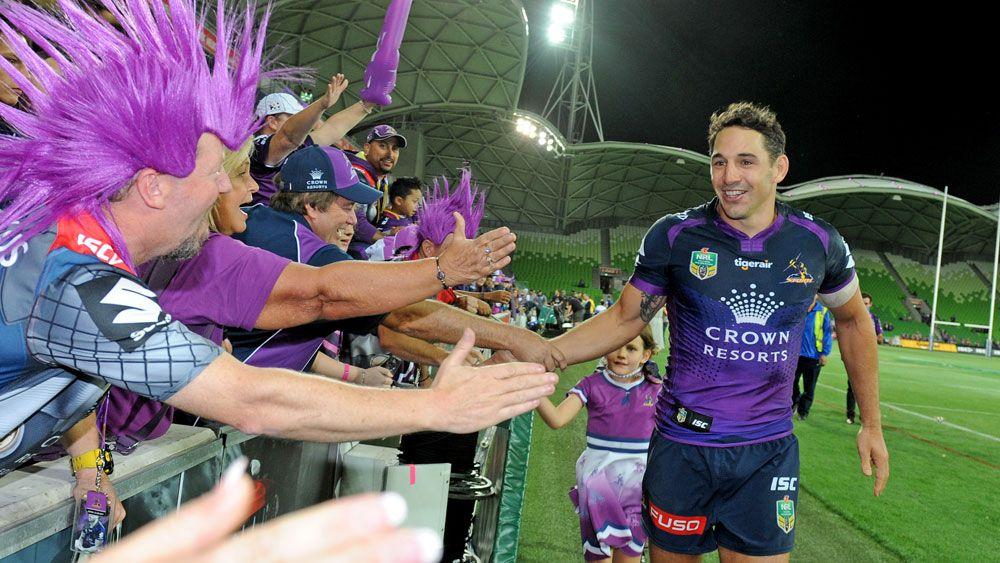 'Nervous' Billy Slater glad to be back into the NRL fold