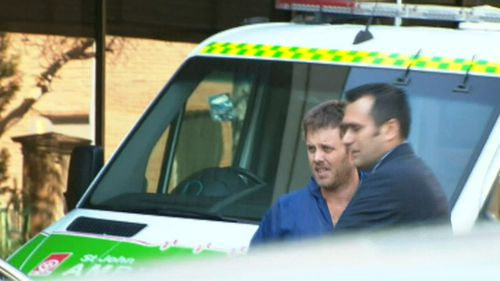 Ryan Hawke has been jailed for at least 17 years over the murder of Mark Koller in 2014. Picture: 9NEWS