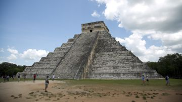 Mayan ruins of Chichen Itza in Mexico's Yucatan Peninsula. Experts in Mexico said that they have detected more than 2,000 pre-Hispanic ruins or clusters of artefacts along the proposed route of the president's controversial Maya Train project.