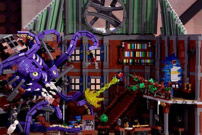 LEGO Masters 2020 Episode 11 Marvel Cinematic Universe Scott and Owen