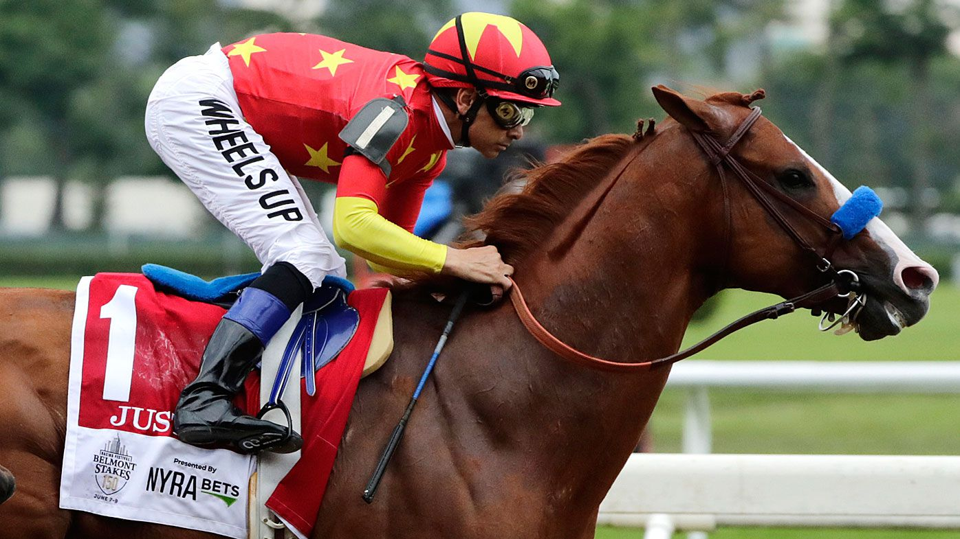 Justify claims Triple Crown with victory at Belmont Stakes