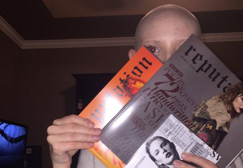 Laura  wants to thank Swift for helping her through her cancer battle.  (Laura James)