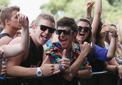 All the rockin' action from the 2012 Big Day Out!