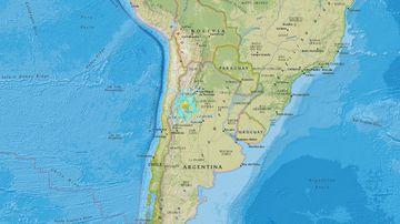 A 6.2-magnitude quake has rocked Argentina. (earthquake.usgs.gov)