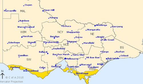 Some parts of Victoria remain under a severe wild warning.