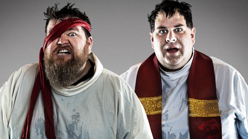 Father Bedding has toured Australia with his comedy show, Pirate Church. (Supplied)