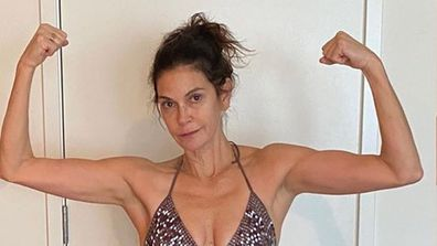 Teri Hatcher, bikini, photo, Instagram, 55nd birthday
