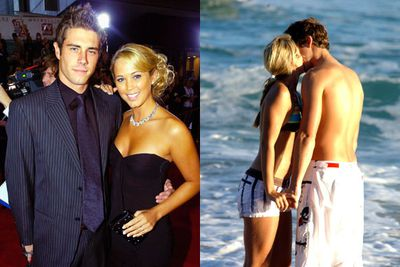 "Before Bec Hewitt's days as a full-time WAG with hubby Lleyton Hewitt, she was engaged to co-star Beau Brady after a four-year relationship from 2000 to 2004. In 2010, Beau told <i>Woman's Day</i> that ""proposing to Bec was one of the biggest mistakes I've ever made"". Bec had started a friendship with Lleyton while planning her wedding to Beau ... the rest is history."