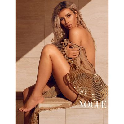 Kim Kardashian, <em>Vogue India</em> March 2018