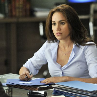 Meghan Markle in an episode of Suits, 2012