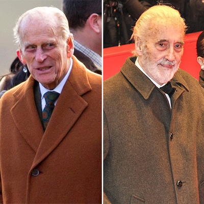 Christopher Lee in Charles & Diana: A Royal Love Story