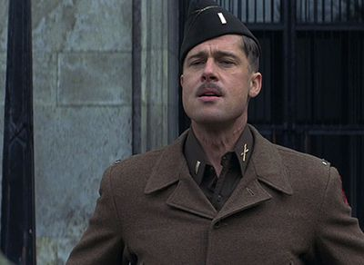 Quentin Tarantino's controversial 2009 war adventure Inglourious Basterds turned the Pittster into the moustached Nazi hunter Lieutenant Aldo Raine.
