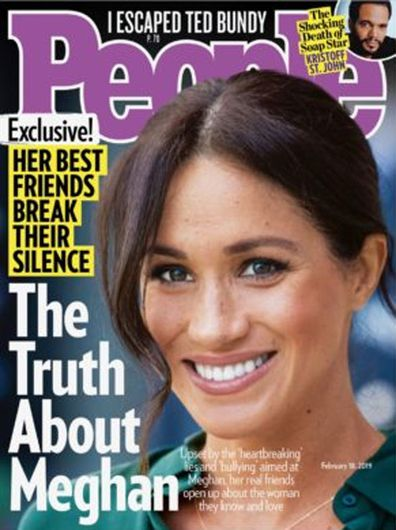 People magazine cover story Feb 2019 Meghan Markle's five friends speak anonymously