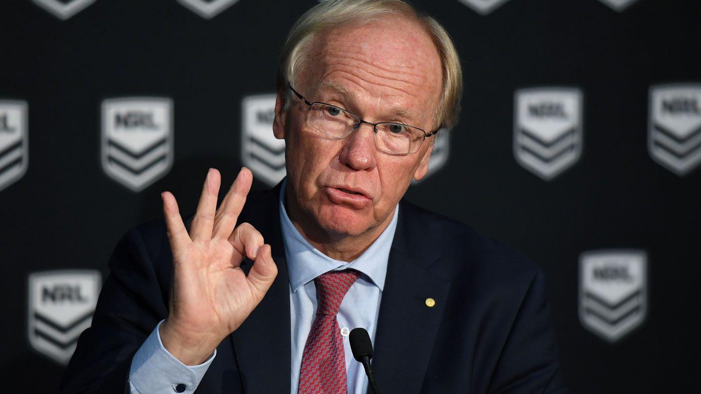 NRL: ARLC chairman Peter Beattie faces flack over Jack de Belin decision