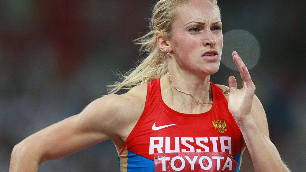 Nadezhda Kotlyarova has been named as one of the Russia athletes who've tested positive to meldonium. (AFP)