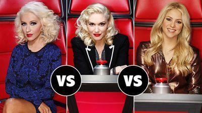 Shakira and Gwen Stefani, The Voice USA