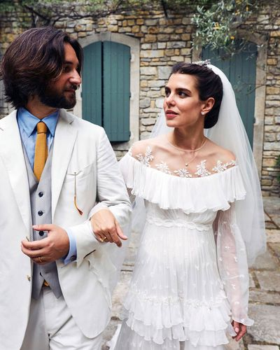 Charlotte Casiraghi of Monaco and Dimitri Rassam, June 29 2019