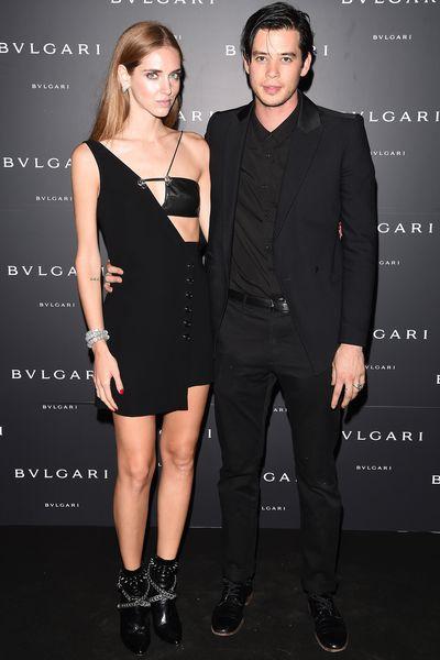 Chiara Ferragni and Andrew Arthur