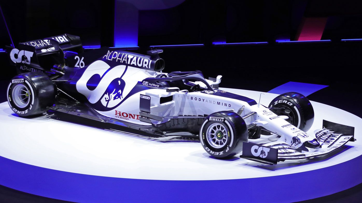 Red Bull launch AlphaTauri F1 rebrand, set sights on top-five constructors' finish