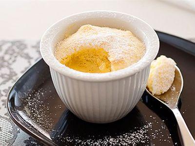 Dietitian designed orange delicious pudding