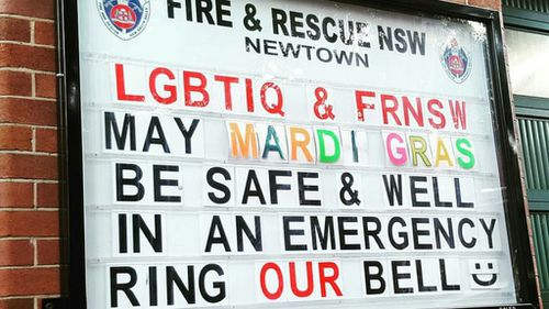 The station officer said they hope the funny signs help remind people of fire safety. (Newtown Fire Station)