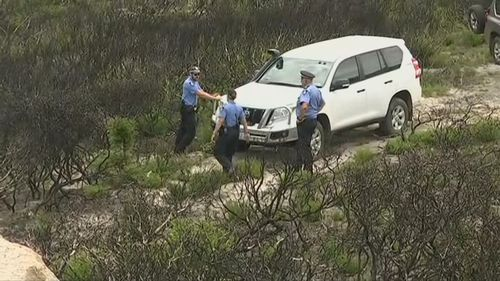Police find the abandoned vehicle of one of the fisherman.