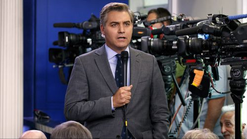 The White House has defended its banning of Acosta from media engagements in light of a fiery exchange with President Trump during the conference.