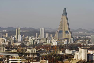 <strong>The Ryugyong Hotel, Pyongyang, North Korea</strong>