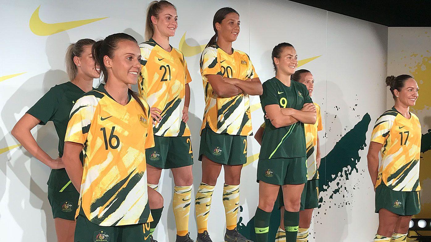 9429f83dae0 Matildas new kit by Nike for Women's World Cup 2019: Australian ...