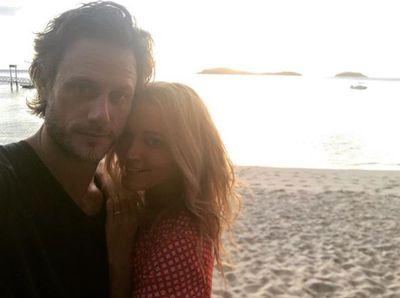 Jackie O Henderson holidaying in Fiji