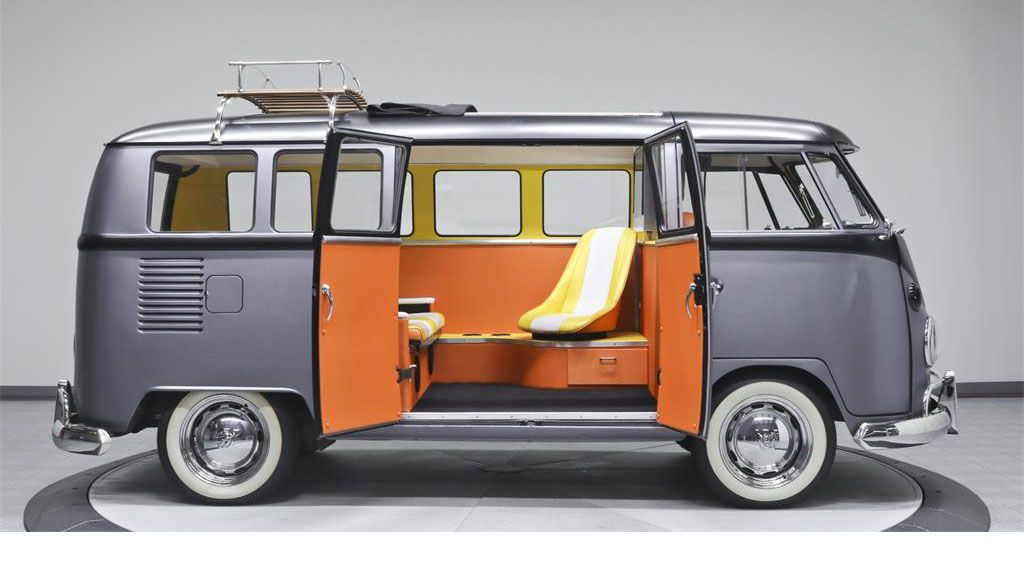 <strong>VW Kombi's makeover goes Back to the Future</strong>
